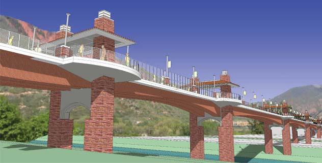 Ped Bridge 4